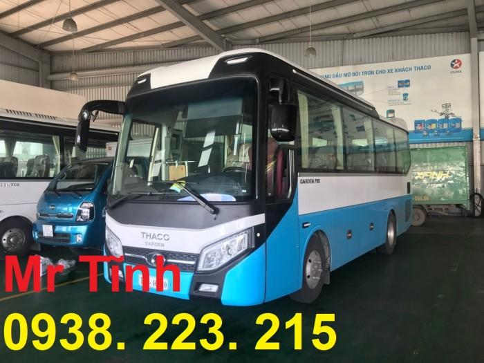 Bán xe Khách 29 Chỗ Bầu Hơi-Thaco Tb79S E4 đời 2019 mới nhất 0