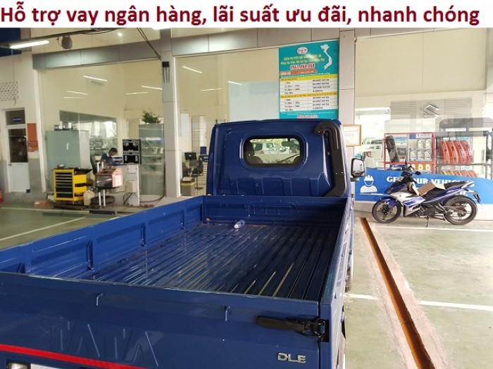 Xe tải tata thùng kín, xe tải 1.2 tấn, giá xe tata 13