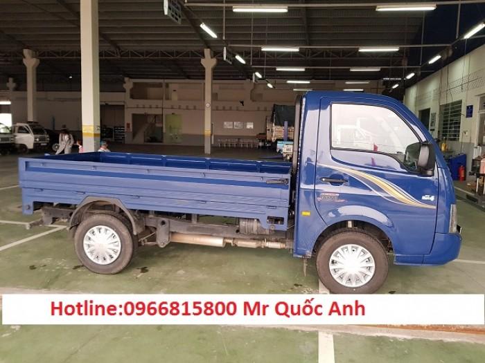 Xe tải tata thùng kín, xe tải 1.2 tấn, giá xe tata 12
