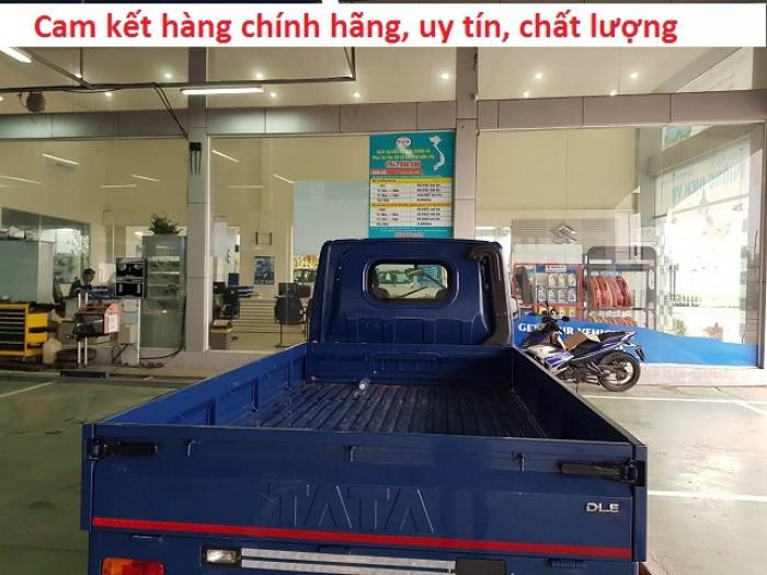 Xe tải tata thùng kín, xe tải 1.2 tấn, giá xe tata 8