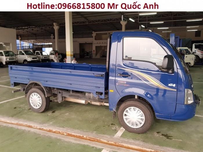 Xe tải tata thùng kín, xe tải 1.2 tấn, giá xe tata 3