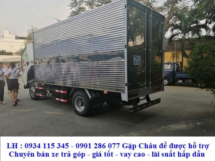 Bảng giá xe tải jac 2.4 tấn *2.4T*2T4*2 tấn 4 + cabin vuông rộng rãi + thùng dài 4.3 m+ thuận tiện chỏ hàng
