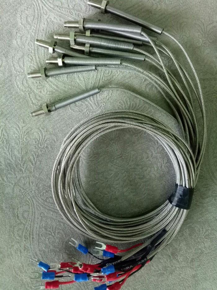 Dây dò loại K, đầu ren M6,3 - ra dây 2,2m và 800mm ( có sẵn)5