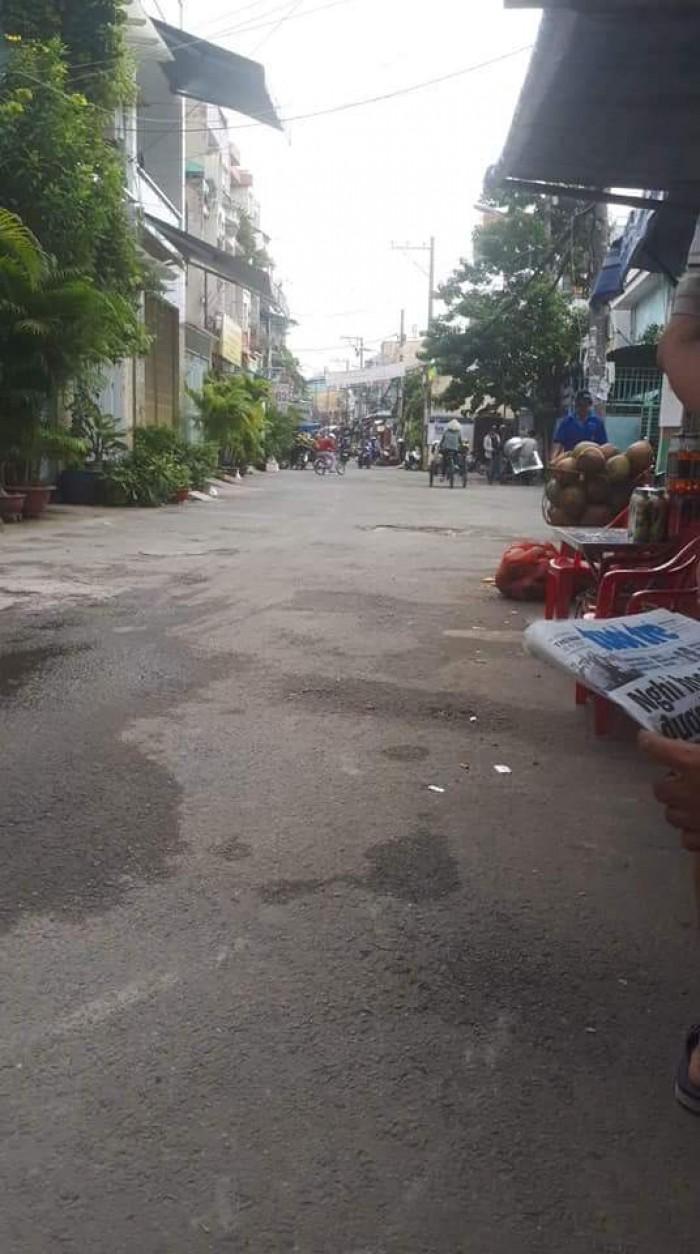 Bán nhà 2MT hẻm xe hơi Nguyễn Văn Công 5x11m Xây 1 trệt 3 lầu