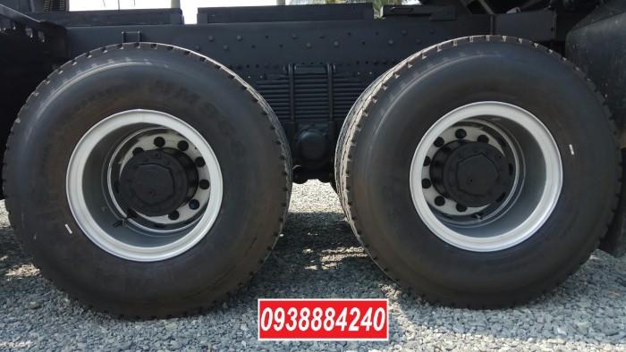 Bán trả góp xe ben 3 chân Thaco Auman D240 ETX Euro 4 máy Weichai thùng 10 khối Góp 80 % Long An Tiền Giang Bến Tre 6
