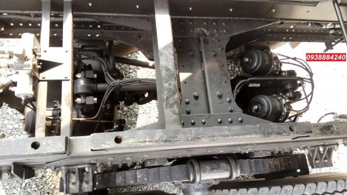 Bán trả góp xe ben 3 chân Thaco Auman D240 ETX Euro 4 máy Weichai thùng 10 khối Góp 80 % Long An Tiền Giang Bến Tre 7