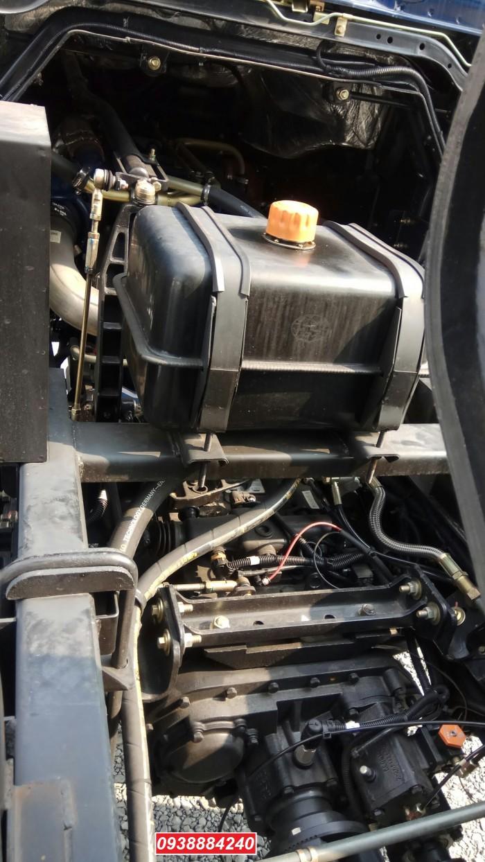 Bán trả góp xe ben 3 chân Thaco Auman D240 ETX Euro 4 máy Weichai thùng 10 khối Góp 80 % Long An Tiền Giang Bến Tre 8