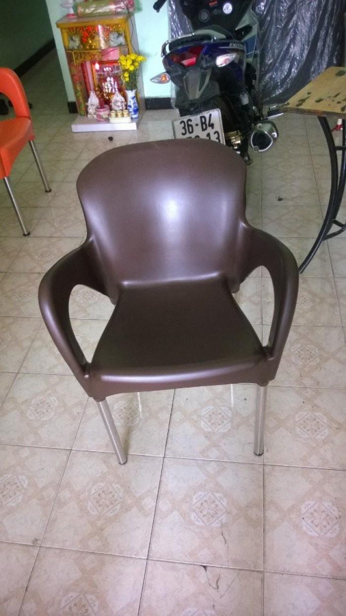 Ghế nhựa nử quàng giá rẻ tại xưởng sản xuất HGH 3700