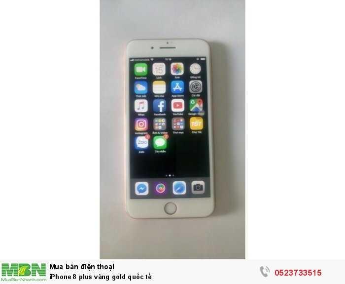 iPhone 8 plus vàng gold quốc tế0