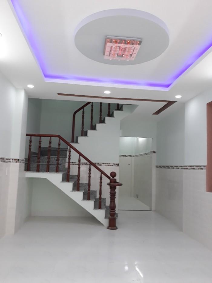 Bán nhà đúc 2 lầu, 4pn ngay đường  lê Thị Riêng gần sát ubnd quận 12