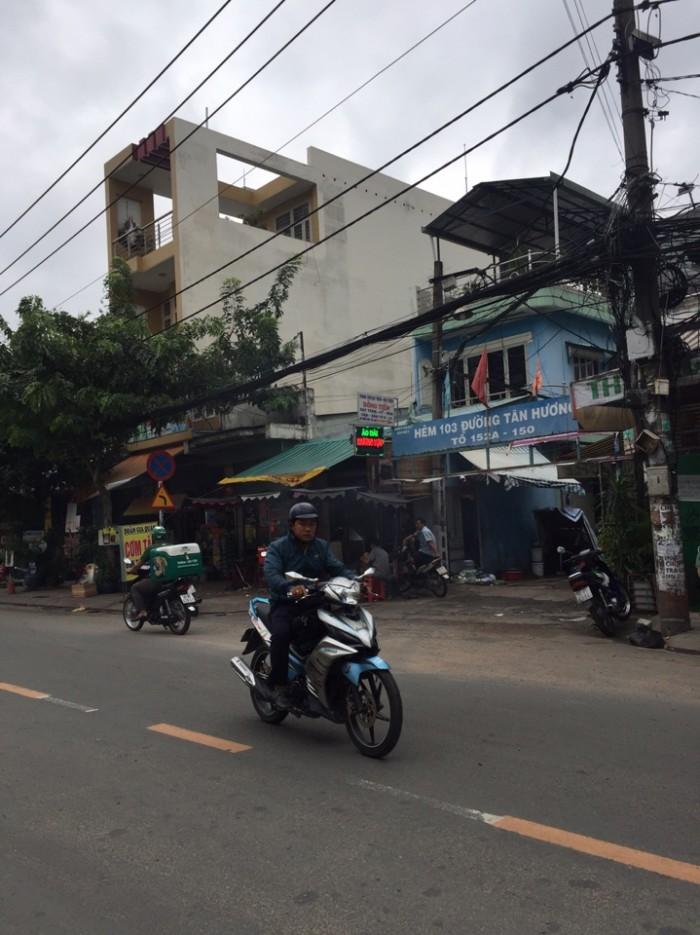 Cặp mặt tiền Hoa Bằng KD Cà Phê, dt 8.1x12.6m, p Tân Sơn Nhì