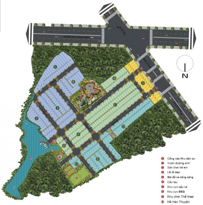 Cơ hội Đầu Tư - Sở Hữu đất nền KDC Moon Lake Tỉnh lộ 44a, Long Hải, Long Điền, Bà Rịa - Vũng Tàu