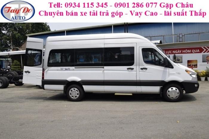 Giá xe du lịch Jac 16 chỗ / xe khách Jac 16 chỗ/ bán xe trả góp / vay cao/ lãi suất thấp / Lh 0934 115 345