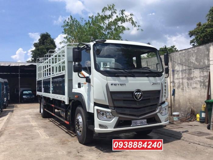 Bán xe tải Thaco Foton C160 E4 mới nhất 9,1 tấn thùng 7,4m trả trước 20% Long An Tiền Giang Bến Tre