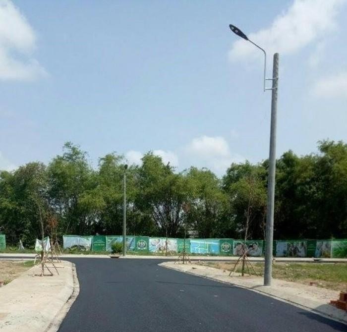 Sang Nhanh Nền Đất 110m2 (5x22) Sổ Riêng Đường 16m Khu Dân Cư Tên Lửa City.