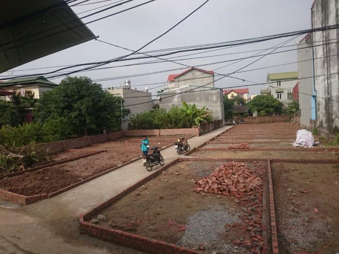 Bán Đất xóm 7 Đông Dư diện tích 33m2
