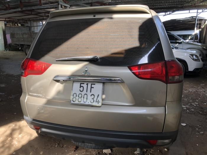 Bán Mitsubishi Pajero Sport 2.5MT số sàn máy dầu màu vàng cát SX 2015 biển SG