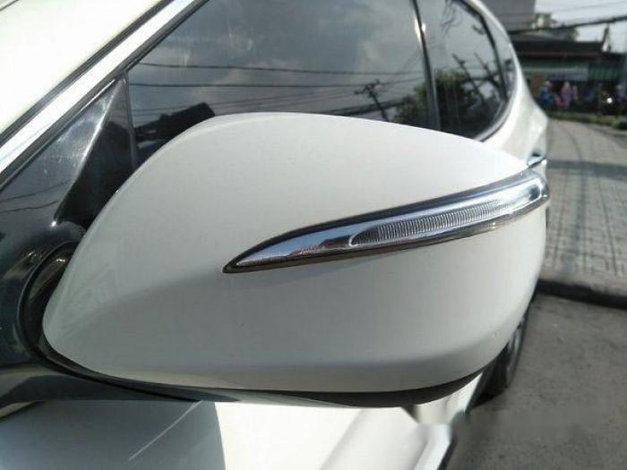 Cần bán xe Hyundai Santa Fe 2013, máy xăng, màu trắng bản thường. 0