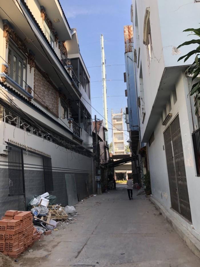 Bán nhà HXH Hồng Bàng 41m 2 lầu