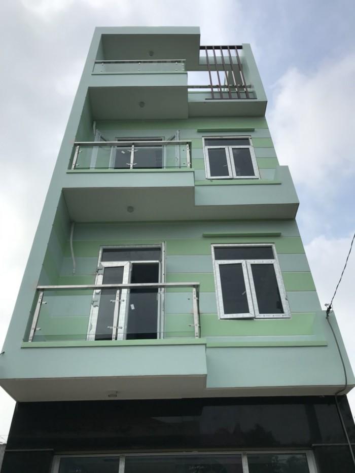 Bán nhà đường Lê Đình Thụ, xây 1trệt 2 lầu sân thượng -P.Tân Thành,Q.Tân Phú