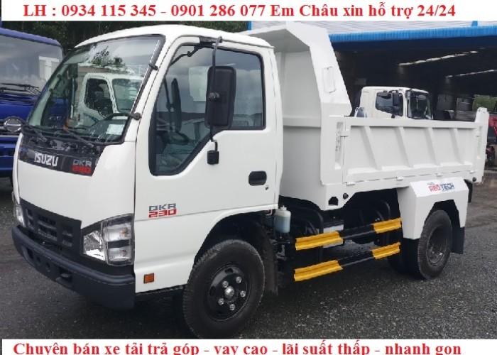 Chuyên bán xe trả góp   xe ben Isuzu 2.2 tấn -2.2T-2T2-2 tấn 2   giá tốt nhất   trả góp thủ tục đơn giản 4