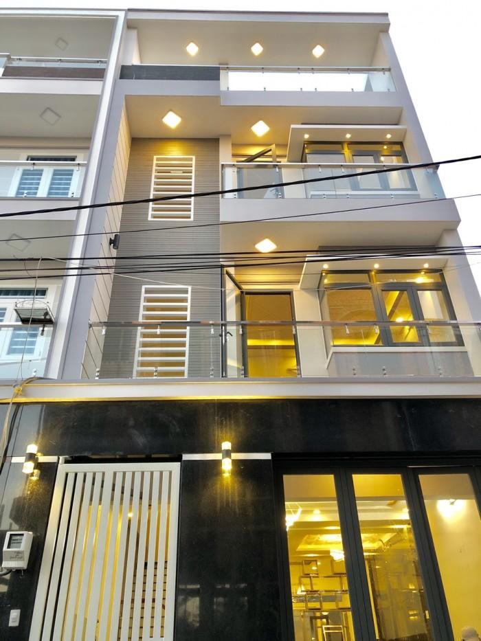 Bán nhà phố cao cấp đường Đào Tông Nguyên, Thị trấn Nhà Bè, DT 6 x 13.5m, 3 lầu đúc