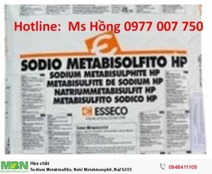 Sodium Metabisulfite, Natri Metabisunphit, Na2S2O52