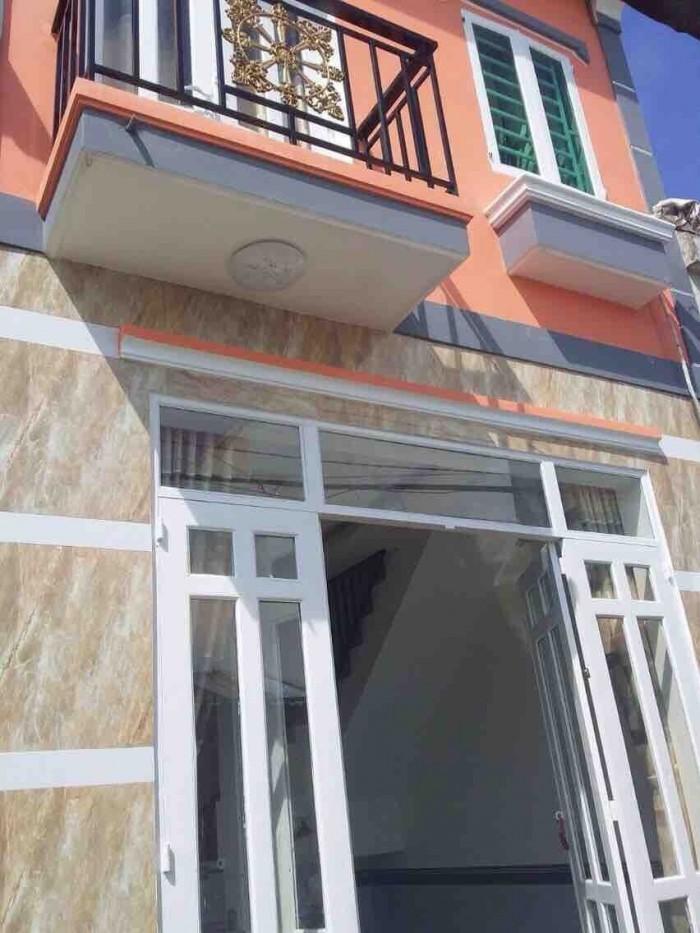 Nhà mới xây,HXH,SHR,cuối Lê Trọng Tấn 1 lầu
