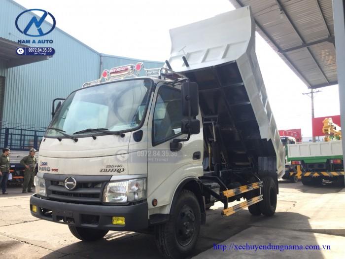 xe tải hino Wu342 Thùng Ben Tự Đổ