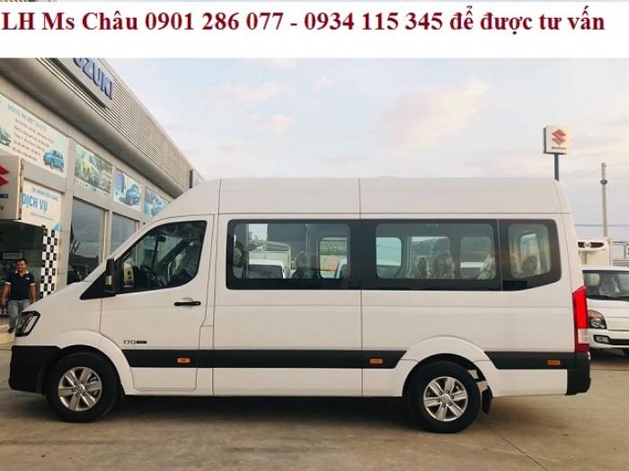 bán xe trả góp giá rẻ - xe khách Hyundai Solati 16 chô  - du lịch hyundai Solati 16 chỗ