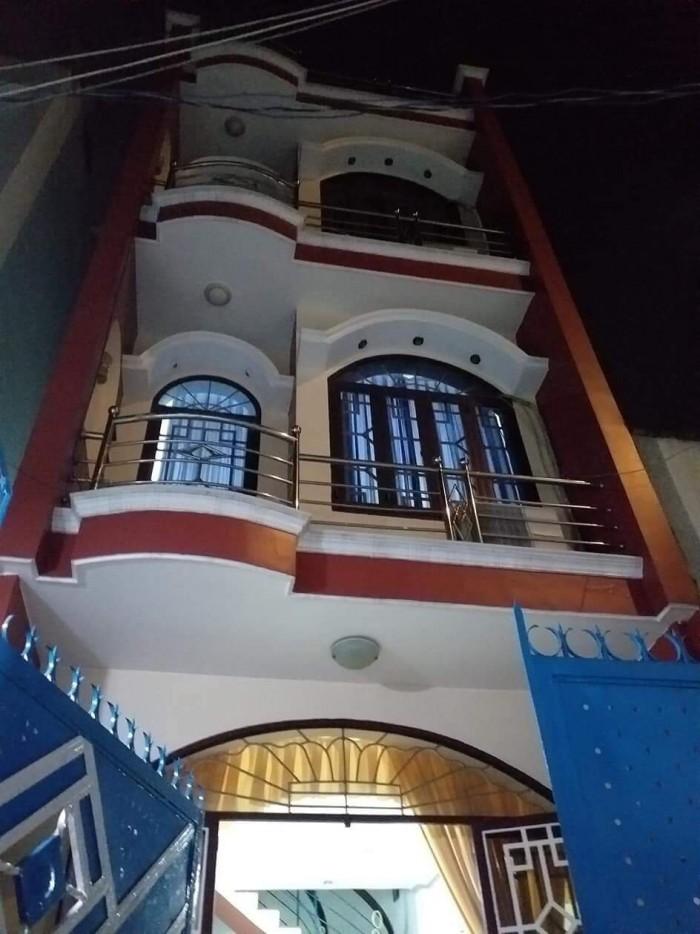 Bán nhà MT Hà Bá Tường 4x18m, 1 trệt 2 lầu