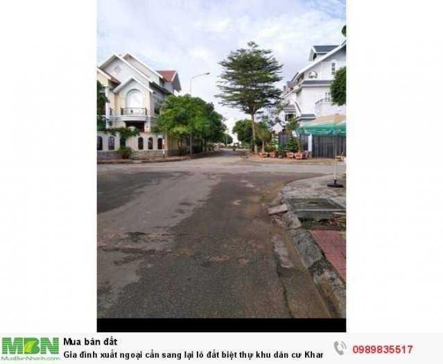 Gia đình xuất ngoại cần sang lại lô đất biệt thự khu dân cư Khang Điền Phước Long B quận 9