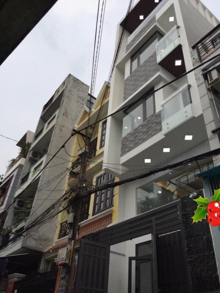 Nhà mới ở luôn. Bàu Cát 2, P14, Tân Bình. 3 lầu, Hẻm 10. Chỉ 7.7 tỷ.