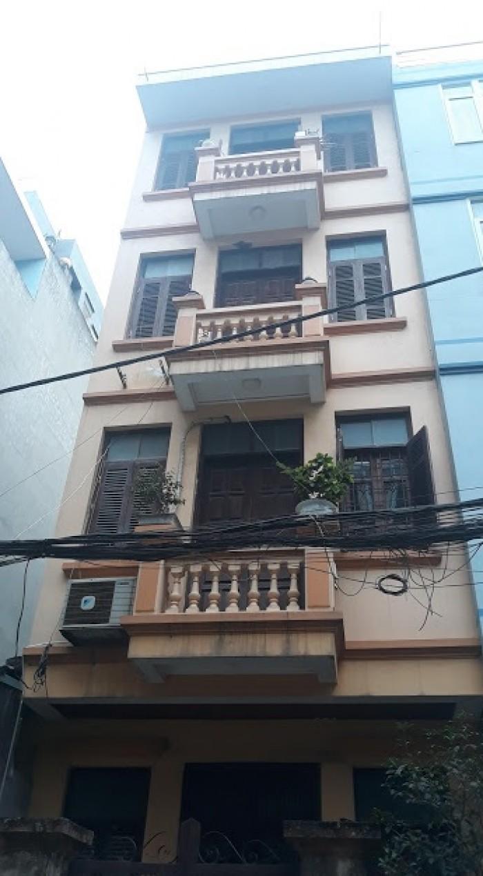 Nhà ngay mặt phố Nguyễn Thị Định, 70m2, 4 tầng, MT5m, ô tô tránh, kinh doanh sầm uất, hơn 9 tỉ.