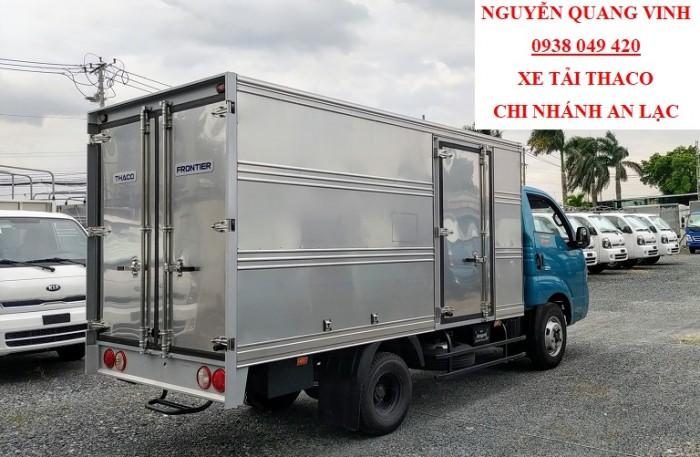 Xe Tải Kia - Thaco K250 - Euro 4 - Mới  nhất hiện tại - Tải Trọng 2,49 Tấn - Hổ Trợ Trả Góp Lãi Suất Ưu Đãi