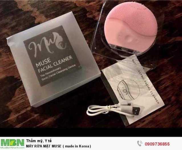 Máy Rửa Mặt Muse ( Made In Korea )