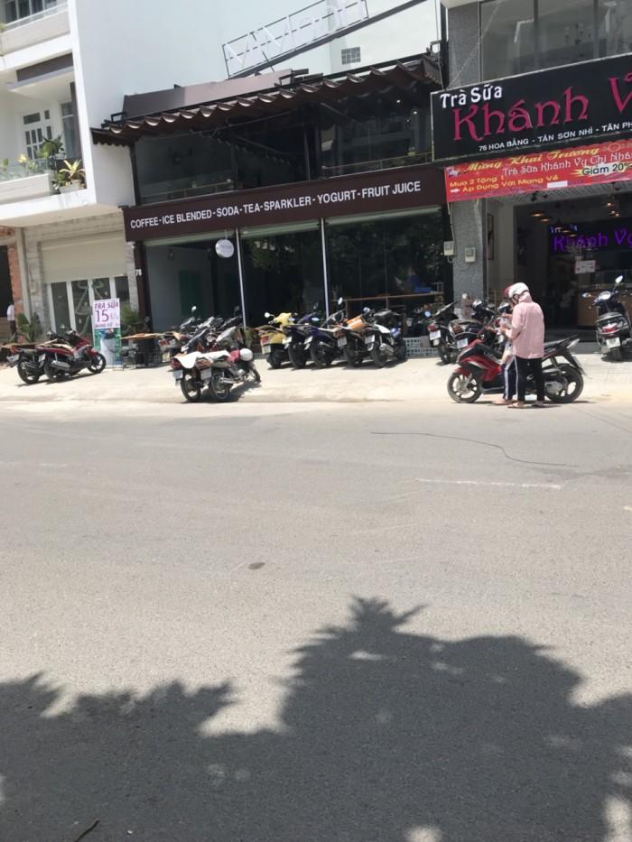 Bán nhà MTKD đường Hoa Bằng 8.1x12.6m 1 lầu P. Tân Sơn Nhì