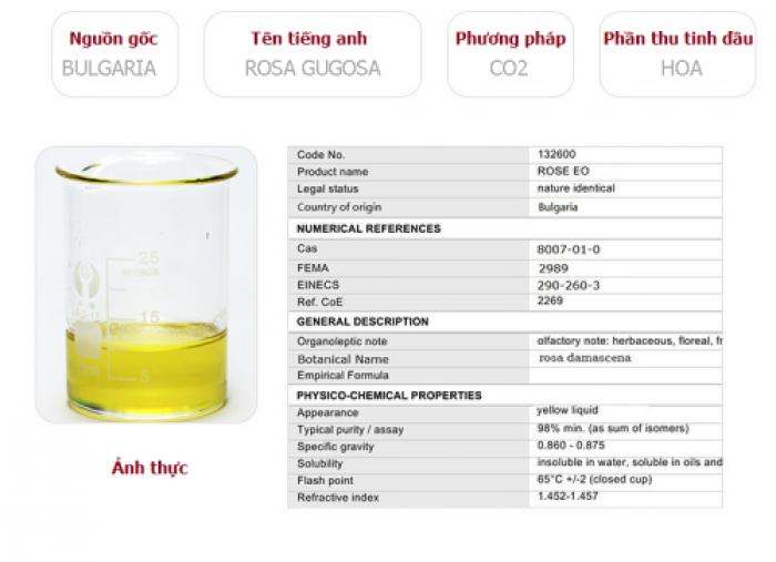 Tinh dầu hoa hồng plus 20ml – Rose EO nguyên chất thiên nhiên Ấn Độ – Lãng mạn, quyến rũ5