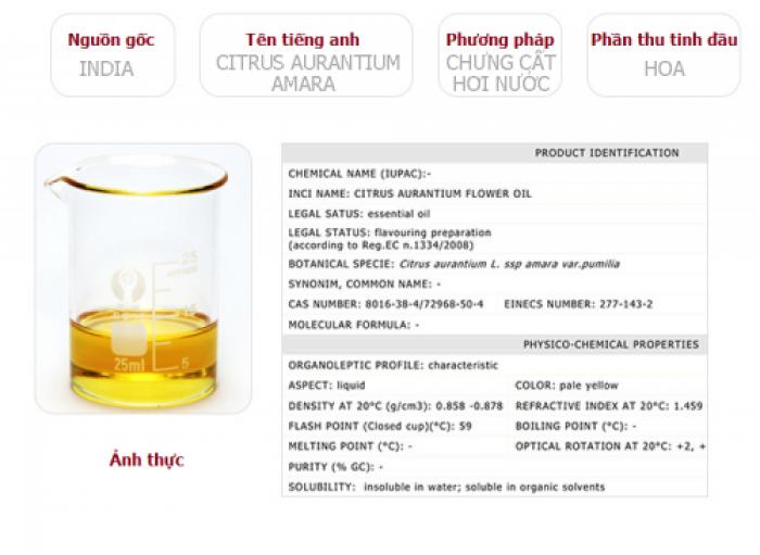 Tinh dầu hoa cam plus 20ml – Neroli EO nguyên chất thiên nhiên Ấn Độ – Thơm lạ, dễ chịu5