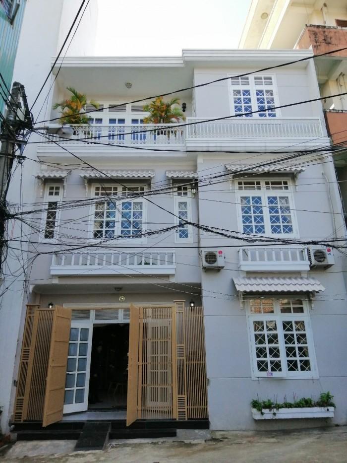 kiệt 8M Điện Biên Phủ biệt thự mini 3 tầng 4pn 3wc