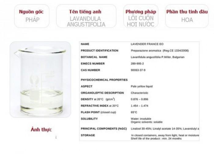 Tinh Dầu Oải Hương Plus (20ml) - Lavender EO đuổi muỗi trị mụn làm đẹp thư giãn tinh thần nhẹ nhàng2