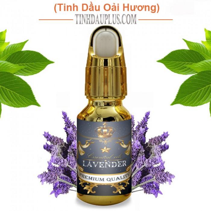 Tinh Dầu Oải Hương Plus (20ml) - Lavender EO đuổi muỗi trị mụn làm đẹp thư giãn tinh thần nhẹ nhàng0