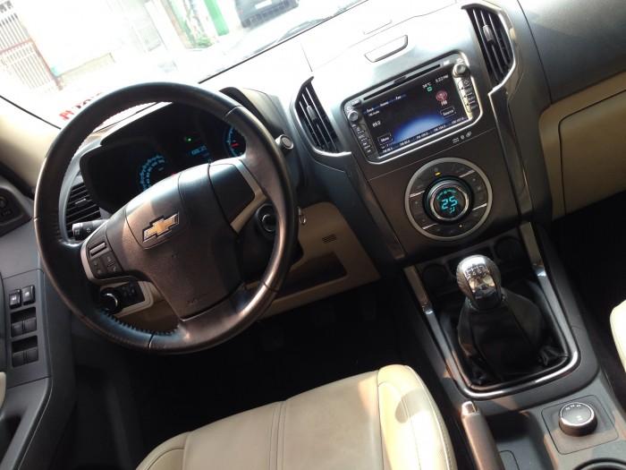 Chevrolet Colorado 2.8LTZ đời 2016 dầu số sàn màu xám 2 cầu điện 8
