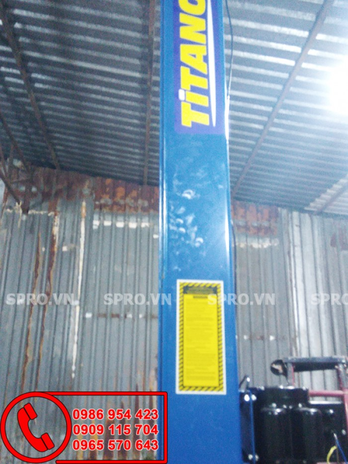 Cầu nâng 2 trụ cổng trên | Titanno