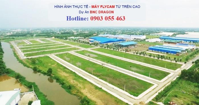 KĐT xanh BNC Dragon giá chỉ 12,8tr/m2. MT đường Đinh Đức Thiện(826), SHR, CK 5%