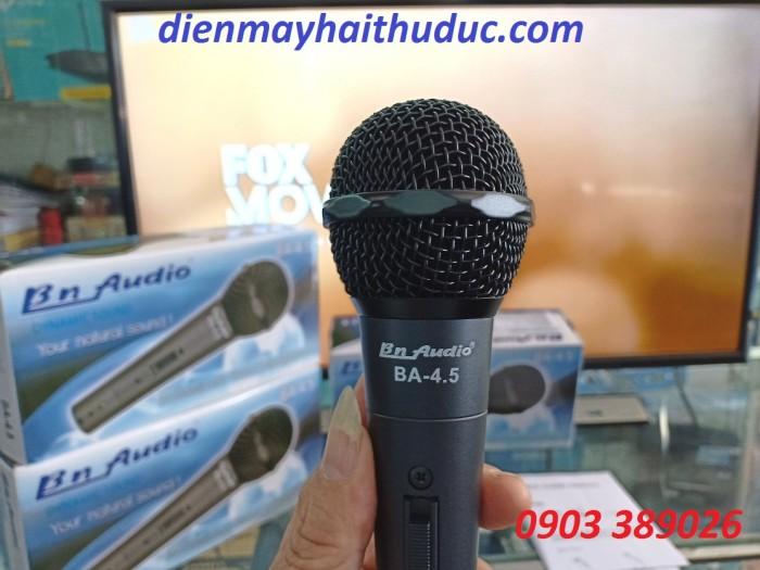 Micro có dây BN AUDIO BA-4.5 hàng có giá tầm trung mà âm thanh quá chuẩn4