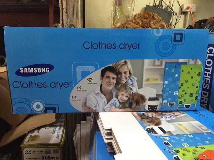 Tủ sấy quần áo SAMSUNG có hẹn giờ