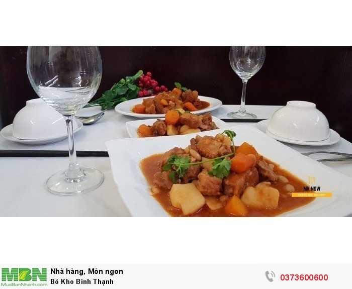 Bò Kho Bình Thạnh - Ẩm thực MKnow