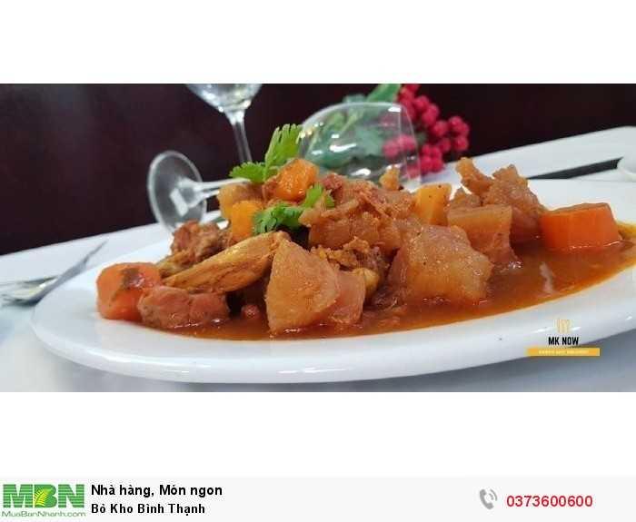 Bò kho quận Bình Thạnh