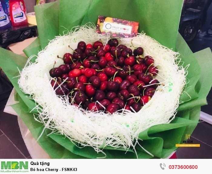 Bó hoa trái Cherry1